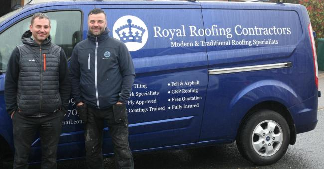 Roofers to the rescue after Hove OAP's 'rogue trader' run-in